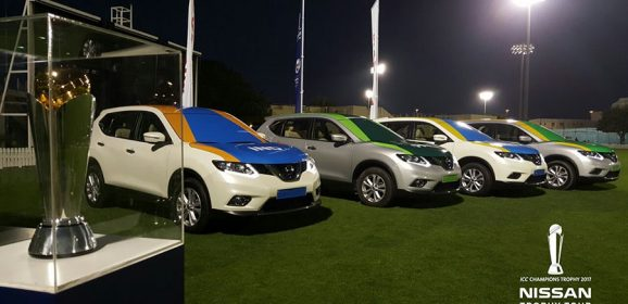 Nissan sets off the ICC Champions Trophy on its journey to the UK