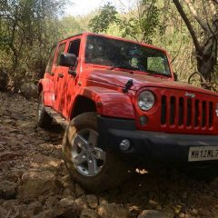 Jeep Wrangler Unlimited Priced at INR 56 lakhs (Ex-showroom Delhi)