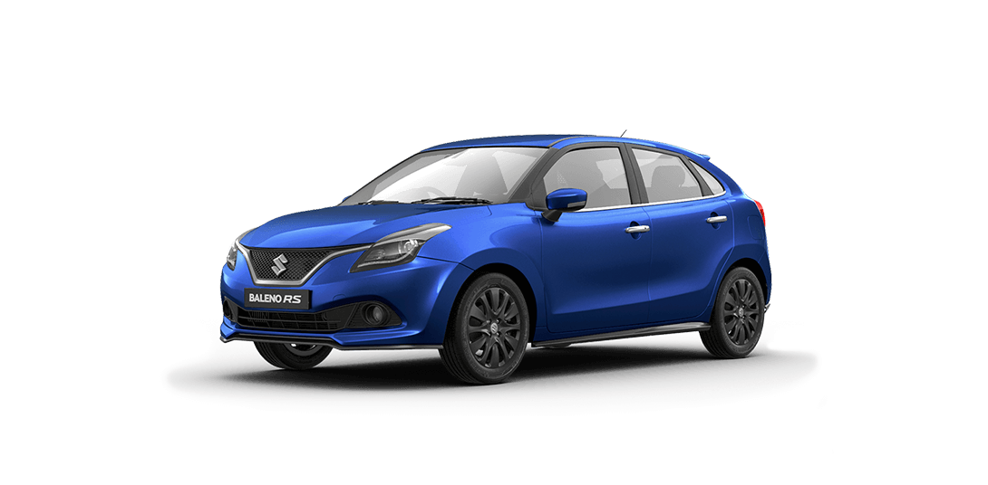 Maruti Baleno RS Urban Blue Color Variant