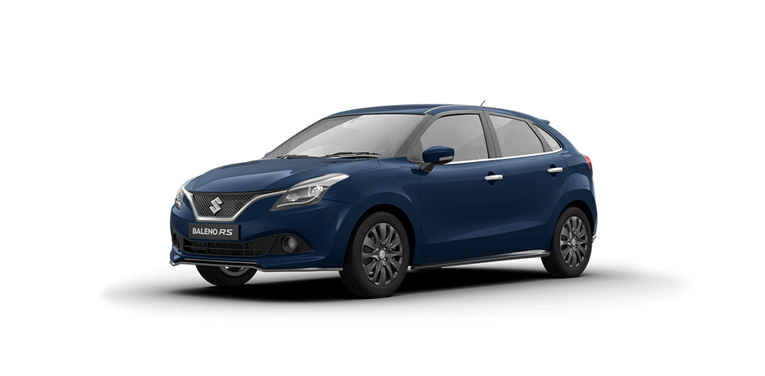 Maruti Baleno RS Ray Blue Color Variant