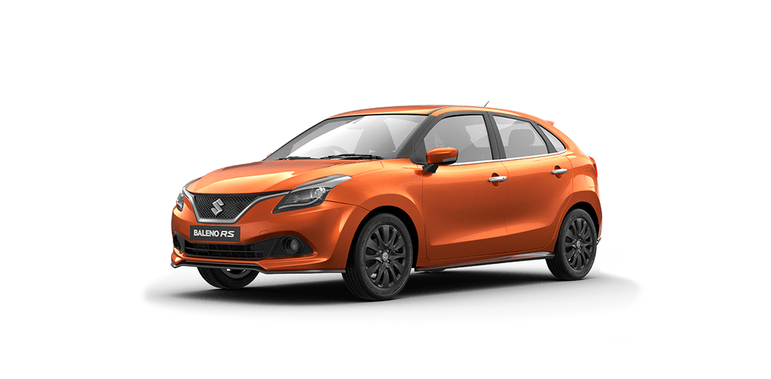 Maruti Baleno RS Orange Color - Autumn Orange Color