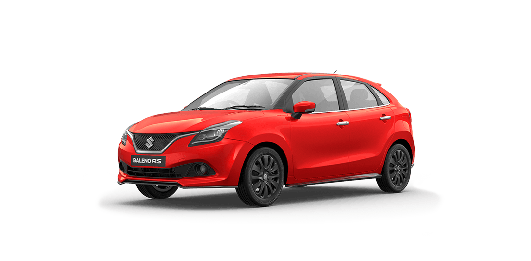 Maruti Baleno RS Red Color - Fire Red Photo