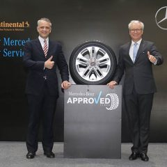 Mercedes-Benz associates with Continental Tyres