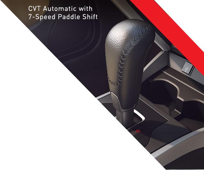 New-2017-Honda-City-CVT-Automatic-Paddle-Shift-