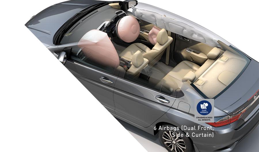 New-2017-Honda-City-Safety-Air-bags