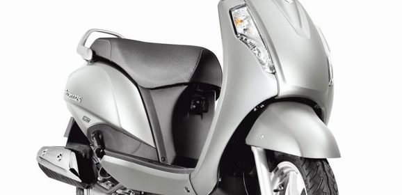 2017 Suzuki Access 125 gets AHO & BS-IV; Metallic Sonic Silver Color Added