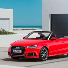 New 2017 Audi A3 Cabriolet Launched in India at INR 47,98,000
