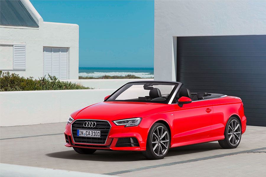 new 2017 audi a3 cabriolet launched in india at inr 47 98 000 gaadikey. Black Bedroom Furniture Sets. Home Design Ideas