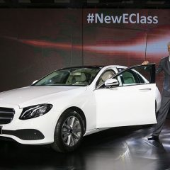 Mercedes-Benz E-Class gets Longer Wheel Base and Right Hand Drive