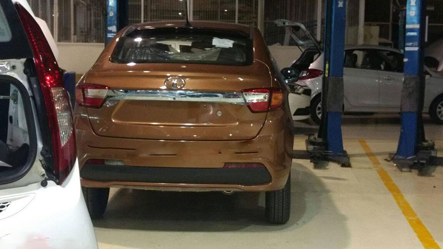 Rear Spy photo of Tata Tigor