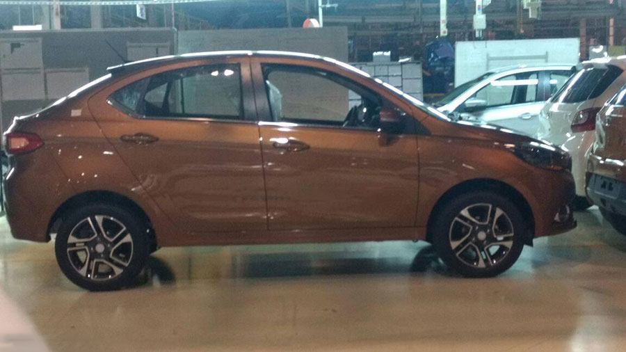2017 Tata Tigor Sedan Spyshots