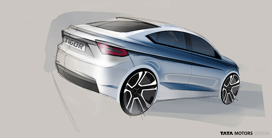 Tata Tigor concept from Tata Motors