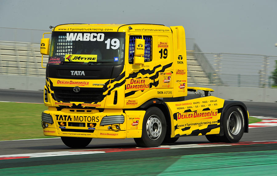 1000 bhp Tata PRIMA Truck Race Truck