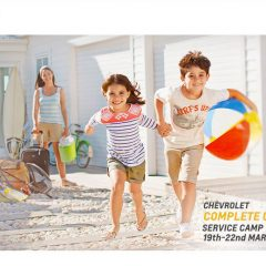 Chevrolet to Organize Complete Care Service Camps in India