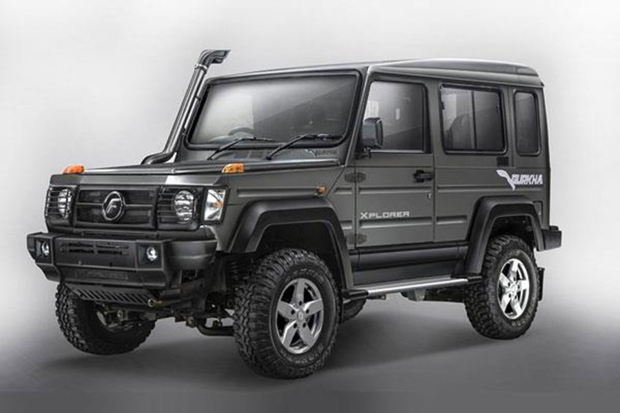 New Updated 2017 Force Gurkha Launched At INR 838 Lakhs