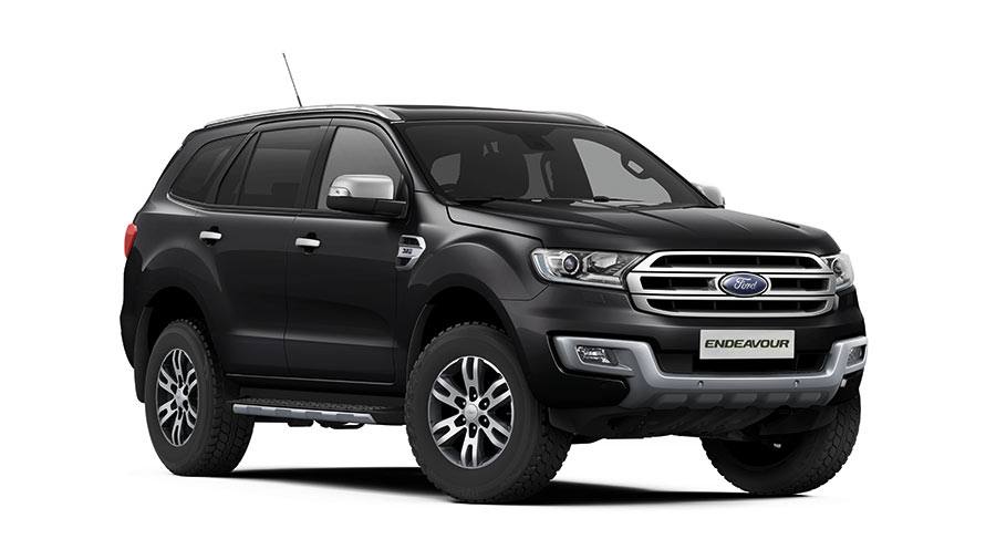 2017 Ford Endeavour Black Color - Panther Black Color