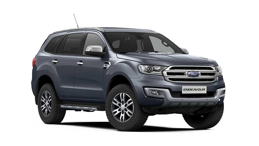 2017 Ford Endeavour Smoke Grey Color