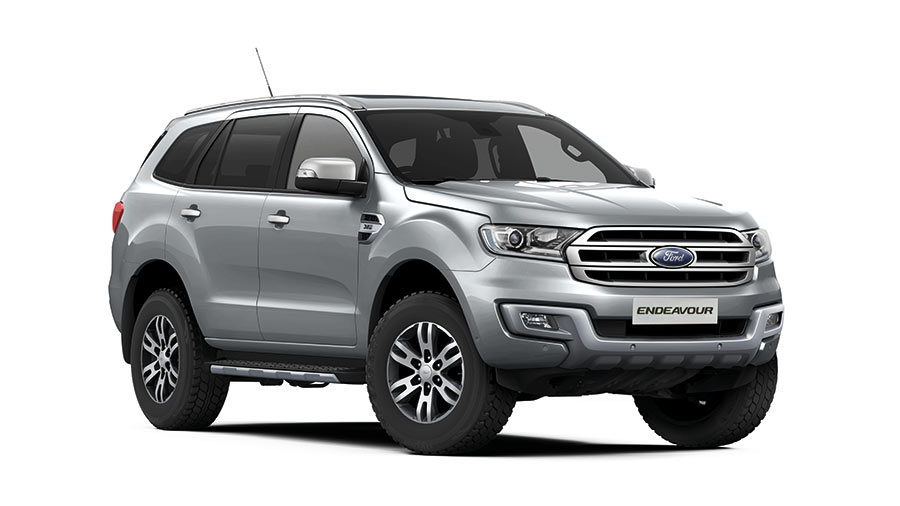 2017 Ford Endeavour Moondust Silver Color