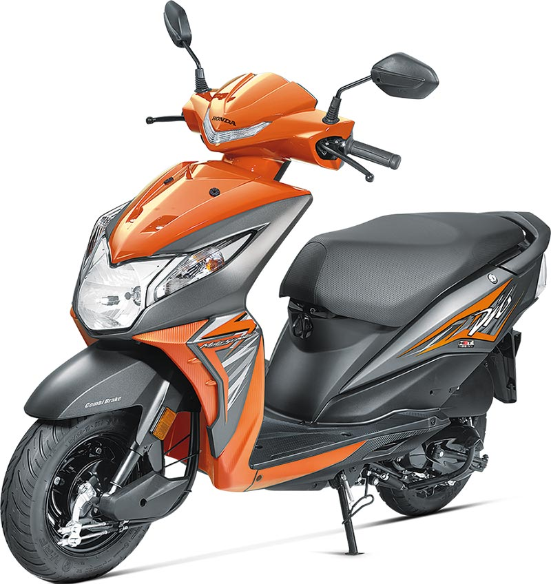2017-Honda-Dio-Orange-Color Dio Orange Color 2017 Honda Dio Vibrant Orange Color Photo