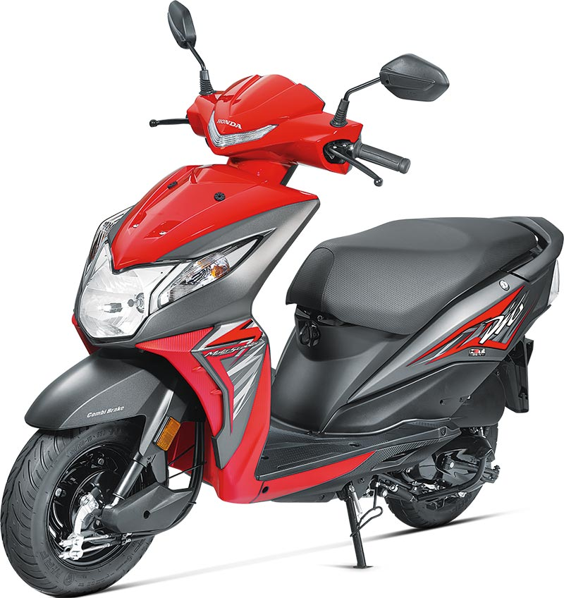 2017 Honda Dio Sports Red Color 2017 Honda Dio Red Color 2017-Honda-Dio-Red-Color---Sporty-Red-Color-Photo