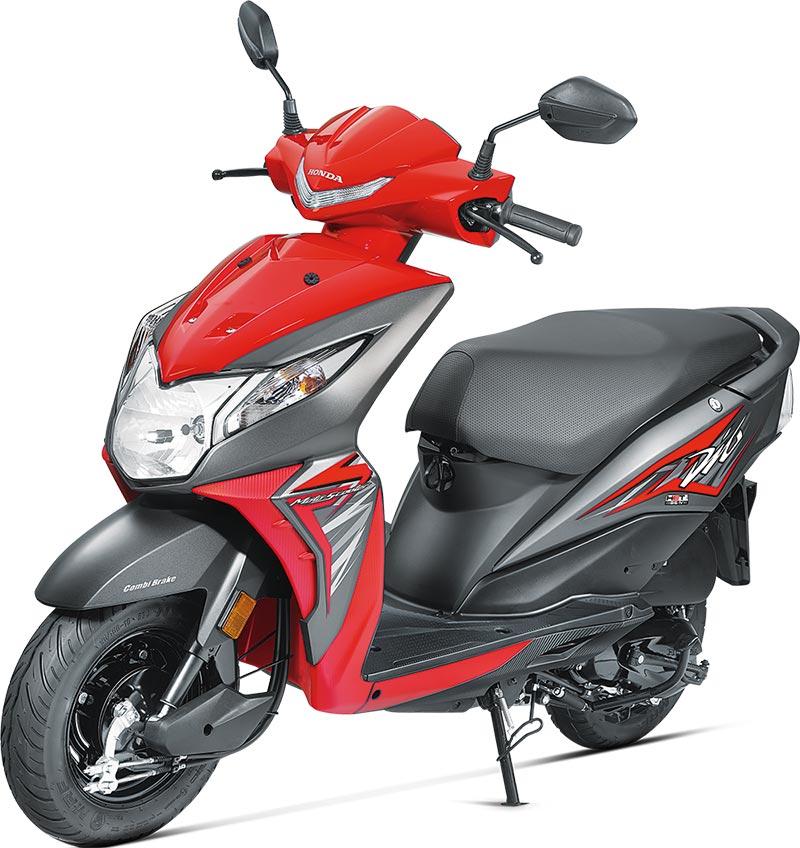 2017 Honda Dio Sports Red Color 2017 Honda Dio Red Color 2017-Honda-Dio-Red-Color---Sporty-Red-Color-Photo