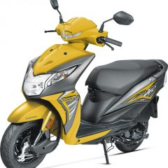 2017 Honda Dio Colors: Yellow, Orange, Red, Grey, Blue