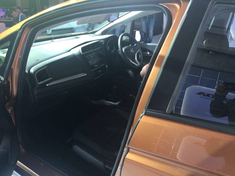 Honda WR-V Interiors