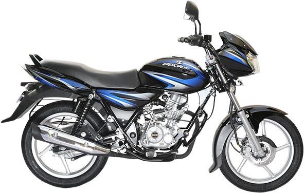 2017-New-Bajaj-Discover-125-Ebony-Black-with-Blue-Color