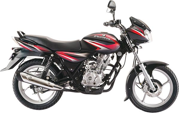 2017-New-Bajaj-Discover-125-with-Ebony-Black-and-Red-Color-Variant