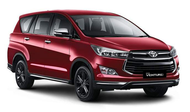 New Innova Crysta Touring Sport