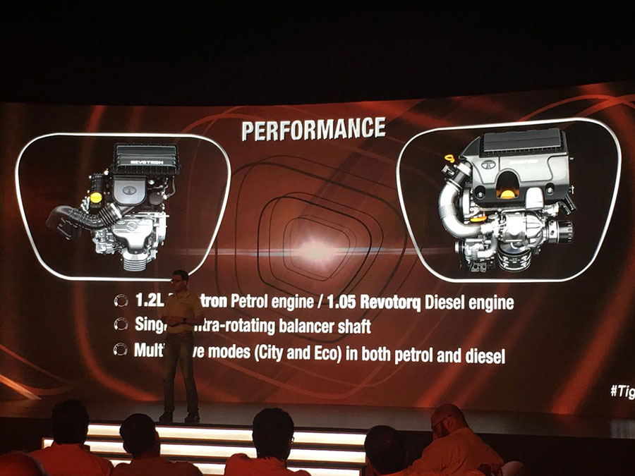 Tata TIGOR Engine and Performance