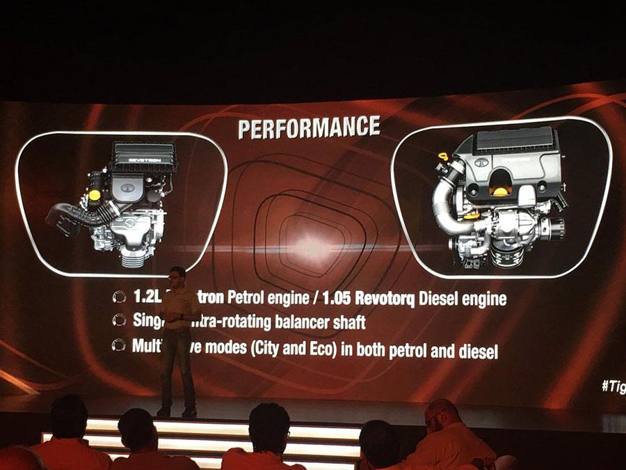 Tata TIGOR Engine and Performance