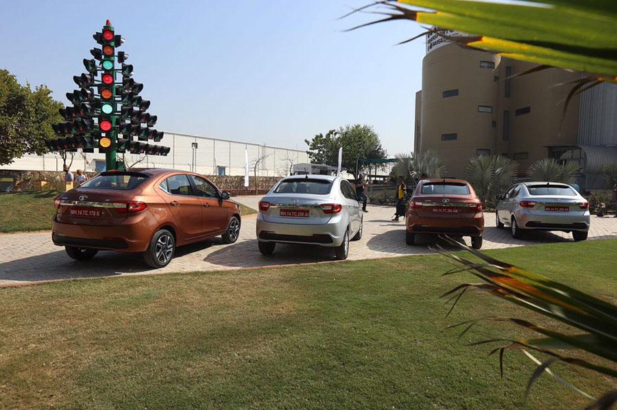 Tata TIGOR Color Variants Explained