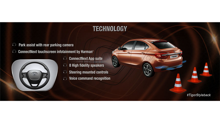 2017 Tata TIGOR Technology Features Explained