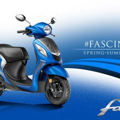 2017 Yamaha Fascino with BS4 Engine, AHO launched