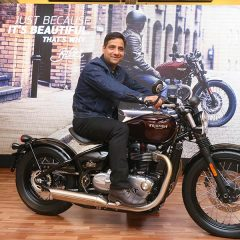Triumph Bonneville Bobber Launched at INR 9.09 Lakhs
