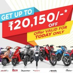 TVS to sell BS4 Bikes from April 1; Offers upto Rs 20,150 on BS3 Bikes