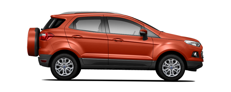 Ford EcoSport Red Color (Mars Red Color)