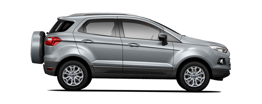 Ford EcoSport Silver Color - Moon dust Silver color of Ford EcoSport