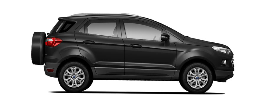 Ford EcoSport Black Color (Panther Black Color)
