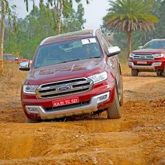 Ford Endeavour reveals its off-roading capabilities in Bengaluru