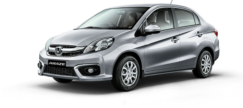Honda Amaze Silver Color - Alabaster Silver Color