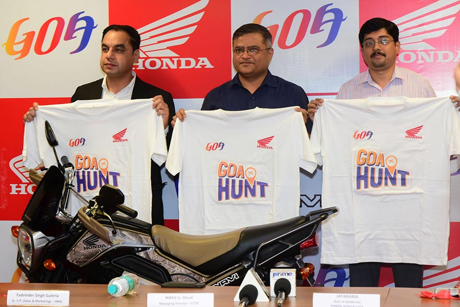 Honda NAVI Goa Hunt
