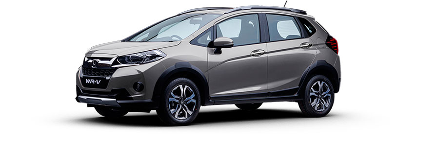 Honda WR-V in Silver Color
