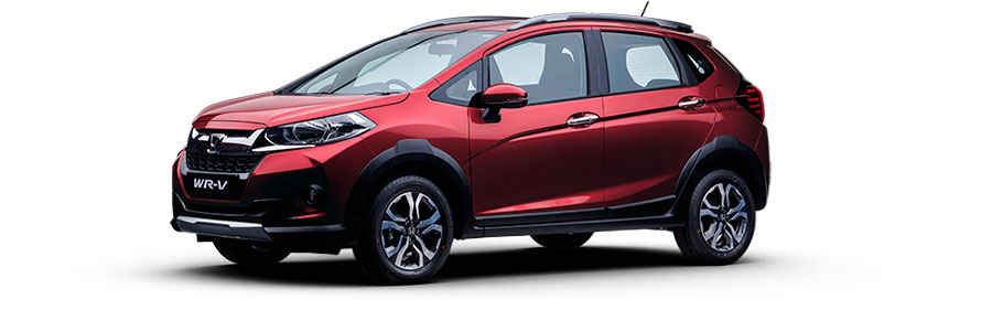 Honda WR-V Carnelian Red Pearl Color
