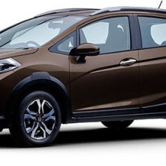 Honda WR-V Colors – Silver, Brown, Red, White, Amber, Steel