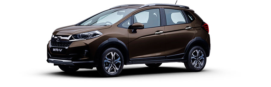 Honda WR-V Colors - Silver, Brown, Red, White, Amber, Steel