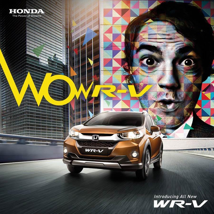Honda WR-V Poster