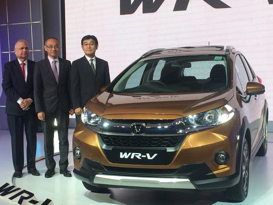 Honda WR-V Launch India