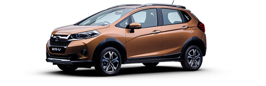 Honda WR-V Premium Amber Metallic Color